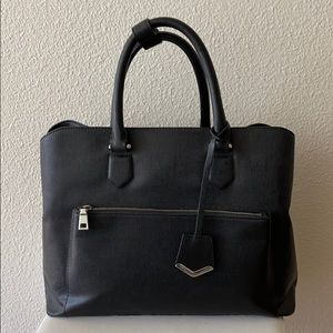 Zara black everyday/computer bag